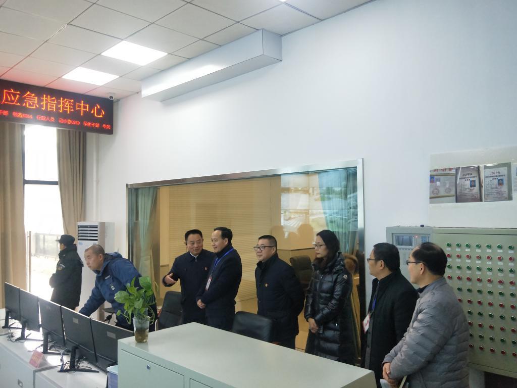 学校岗位目标责任制_刘永彪校长带队抽查学校安全工作-金陵科技学院--信息公开